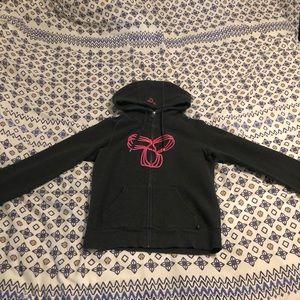 TNA pacific zip up hoodie
